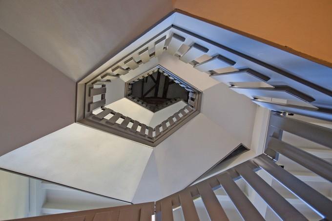 13 Treppenaufgang