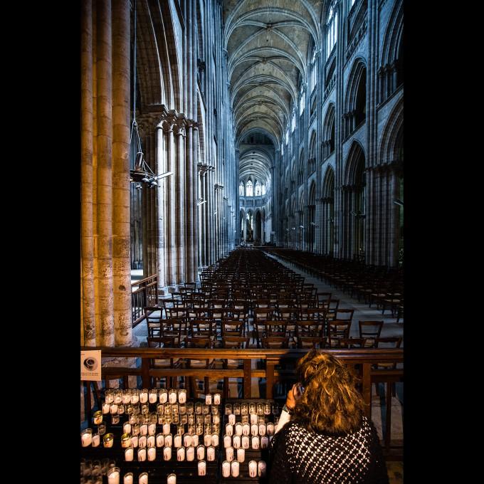 Rouen - Kathedrale Notre-Dame: Das Langhaus