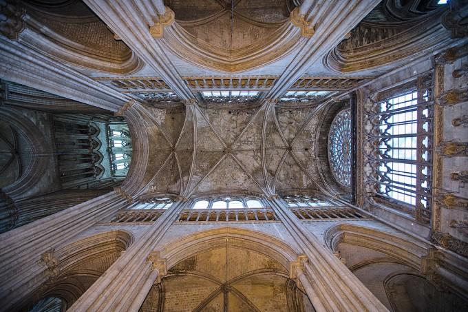 Rouen - Kathedrale Notre-Dame Dach