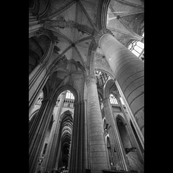 Rouen - Kathedrale Notre-Dame Teile des Chors